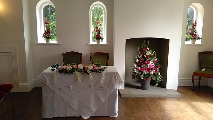 The ceremony table